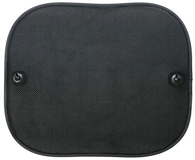 Sumex Pair 3 Layer Lateral Sun Shade 2 Pieces Black Any Car Suction Cups 4410007