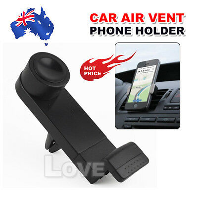 Car Mount Air Vent Holder Cradle for iPhone Samsung Universal Cell Phone