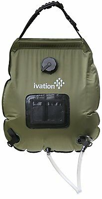 Ivation 5-Gallon Portable Outdoor Shower - Lightweight & Portable