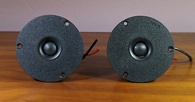 Pair of Linn D20-LP-2 soft dome tweeters... one works, the second does not!