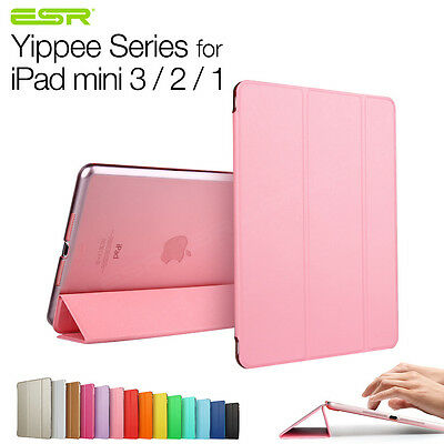 iPad mini 1 2 3 Color Smart Case Stand Ultra Slim Light PU Magnetic Cover Case
