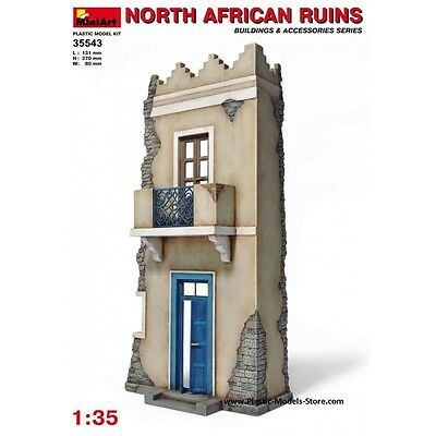 North African Ruins Building For Diorama 1/35 Miniart 35543