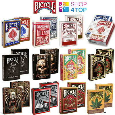 2 Decks Of Bicycle Playing Cards Magic Tricks Poker Made In Usa Uspcc Sealed New