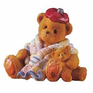 Cherished Teddies Can't Bear To See You Under The Weather 215856 NIB