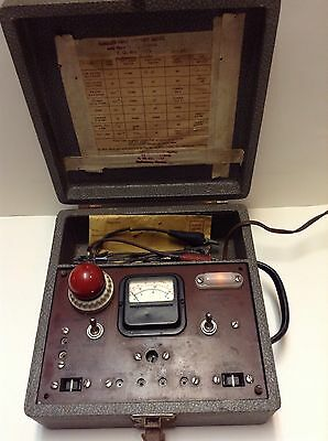 Vintage National Radio Institute NRI Small Appliance Tester Voltage,Amp, & Ohms