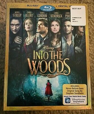 Into the Woods (Blu-ray Disc, 2015)