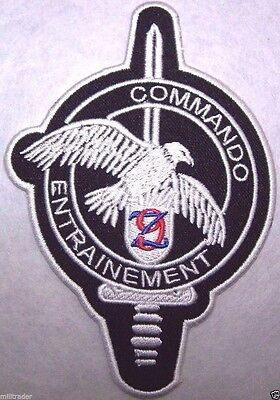France French Commando Entrainement (9th RZ) Patch