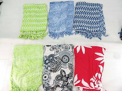 *US SELLER*lot of 5 wholesale sarong beach bikini coverup hippie chic clothing