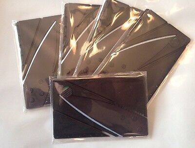 10x credit card micro Knife Wholesale Survival camp wallet knives Bulk Lot