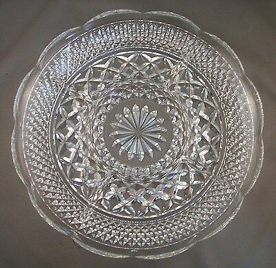 WEXFORD Pattern Vintage Anchor Hocking Glass Relish and Dip Dish 5 Compartment