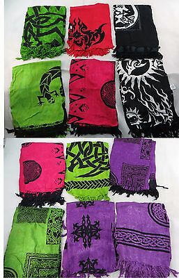 *US SELLER*Lot of 10 geckos tattoo celtic sarong Pagan wiccan Ritual Decoration