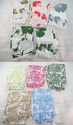 *US SELLER*Lot of 10 floral butterfly leaf hibiscus sarong pareo Swimwear...