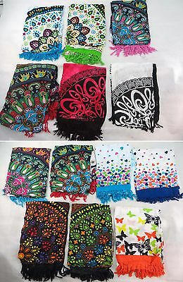 *US SELLER*Lot of 10 mandala sarong infinity circle Celtic knots butterfly...