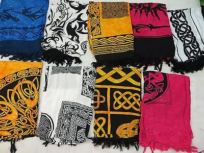 *US SELLER*Lot of 10 Altar Cloths for Tarot Altar Divination Goth Pagan Rituals