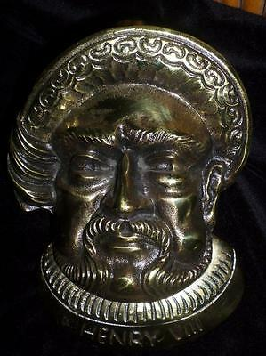 Brass Doorknocker Henry Viii Great Britain Brass Door Knocker