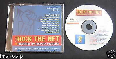 Wilco/bright Eyes/aimee Mann 'Rock The Net' 2008 Promo Cd