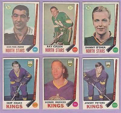 1969-70 , OPC , Hockey , #'s 127 to 230 , Mini Card Albums, UPick From List