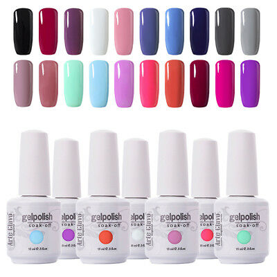 Arte Clavo gelpolish Soak Off UV LED Gel Nail Polish Foundation Top Coat Kit