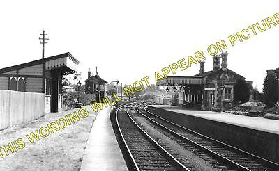 Clutton Railway Station Photo. Pensford - Hallatrow. Bristol to Radstock. (1)