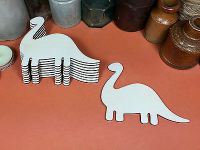 WOOLY MAMMOTH DINOSAUR WOODEN SHAPES Multiple Sizes Wood Shape 2.5cm to 25cm