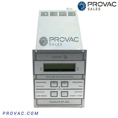 Varian TV-81AG Turbo Pump Controller, Rebuilt By Provac Sales, Inc.