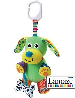 Lamaze Play & Grow Pupsqueak Pram Buggy Car Seat Cot Toy Children Baby 0+