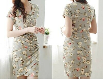 Sale!! Bnwt Floral Maternity Breastfeeding Nursing Dress Size M L Xl 10 12 14 16