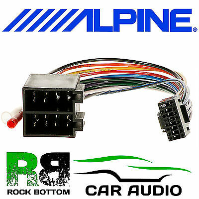 Fabulous Alpine Cde 174Bt Car Radio Stereo Replacement Wiring Harness Loom Wiring Digital Resources Dadeaprontobusorg