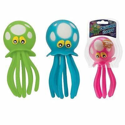 (1) Octopus Light Up Tub Toy Bath Pool or Tub Toy Water Table Sensory Play