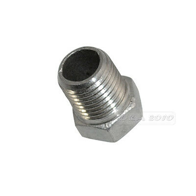 Male x Female Thread Reducer Bushing Pipe Fitting Stainless Steel SS 304 NPT