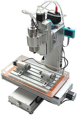CNC Router Table 4 Axis Engraving Machine High-pricision Ball Screw Column Type