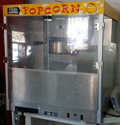Star Manufacturing Company GALAXY POPCORN MACHINE Concession Stand BASEBALL
