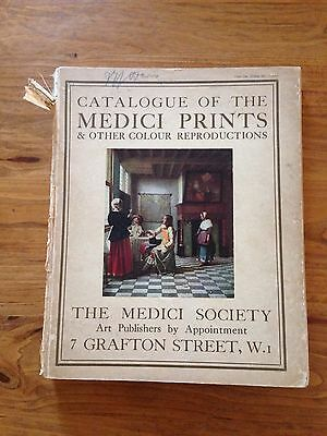 Catalogue of the Medici Prints & Other Colour Reproductions 1930's (?)