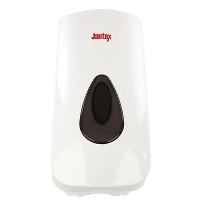 Jantex Adaptable Soap Dispenser 900ml Lever Free Soap Hand Wash Refillable