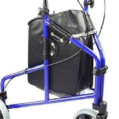 Replacement tri walker bag for 3 wheel walking aids / rollators