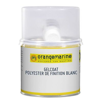 Gelcoat Polyester Blanc Finition 500 G