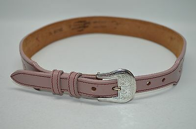Silver Creek Collection Pink Tapestry Country South Western Belt Size 26
