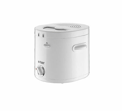 Russell Hobbs 19760 Compact Deep Fryer 1.5L 1000W With Observation Window White