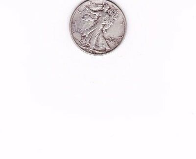 90% Silver Coin Lot of Circulated Walking Liberty Half Dollars sold as each