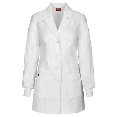 Scrubs Dickies Youtility Lab Coat White DWHZ 85400  FREE SHIPPING!