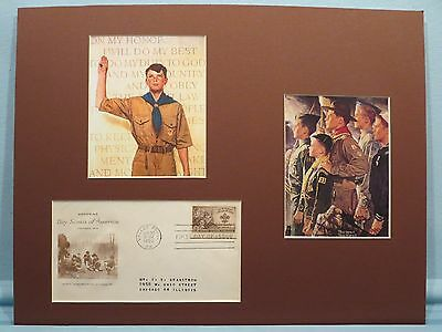 Cub Scouts, Boy Scout & Explorers & First Day Cover of its 40th Anniversary