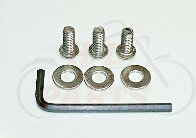 3-Stainless Steel Batwing Fairing Windscreen Bolt Kit for 96-13 Harley Touring