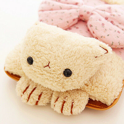 Cat Pillow Hand Warmer Hot Water Bottle Electric Warming Bag Christmas Gift