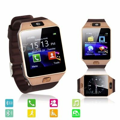 Buyee Bluetooth Smart Watch for Samsung iphone HTC Android Phone with Camera SIM