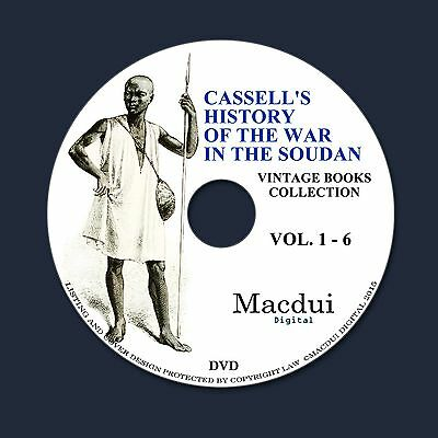 Cassell's history of the war in the Soudan Vintage Books 6 PDF E-Books on 1 DVD