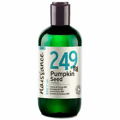 Naissance Pumpkin Seed Certified Organic Oil Use in skincare products & lotions