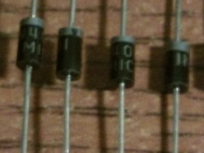 Lot of 9  X 1N4001 4001 1A 50V Silicon Rectifier Diode -