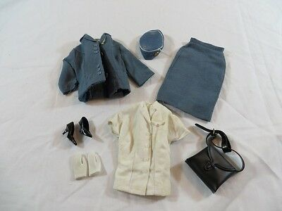 Vintage Original Barbie #1678 Pan Am American Stewardess Outfit NOT A REPRO