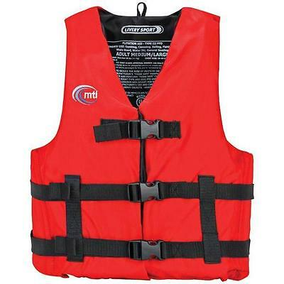 """Mti Rouge Ecurie Sport Life Safety Vest X-Small/Small - Moisissure Resistant/30"""""""