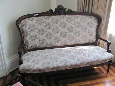Rosewood American Victorian Antique Sofa 11Cc16  - Blowout Sale!!!